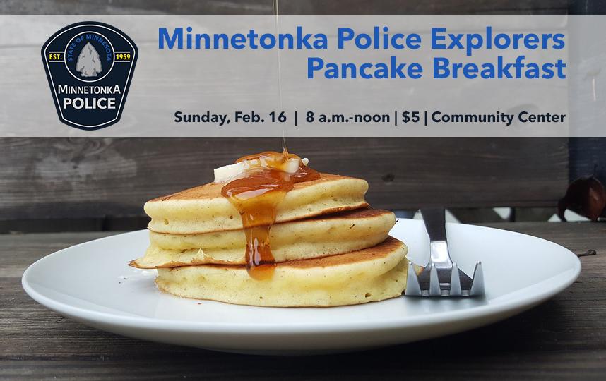 Police Explorers Pancake Breakfast advertisement